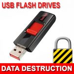 USB Flash Drive Data Destruction